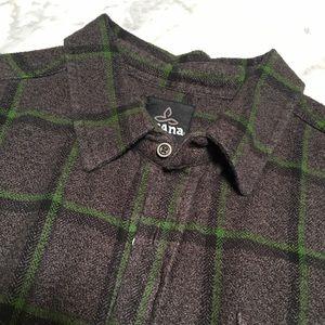 PRANA Flannel Long Sleeve Shirt XL